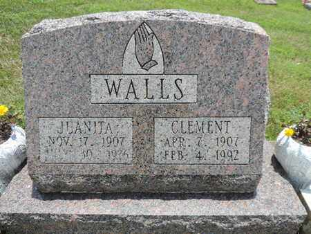 WALLS, CLEMENT - Pike County, Ohio | CLEMENT WALLS - Ohio Gravestone Photos