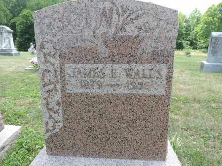 WALLS, JAMES E. - Pike County, Ohio | JAMES E. WALLS - Ohio Gravestone Photos