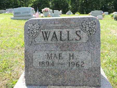 WALLS, MAE H. - Pike County, Ohio | MAE H. WALLS - Ohio Gravestone Photos