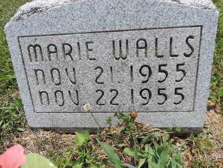 WALLS, MARIE - Pike County, Ohio | MARIE WALLS - Ohio Gravestone Photos