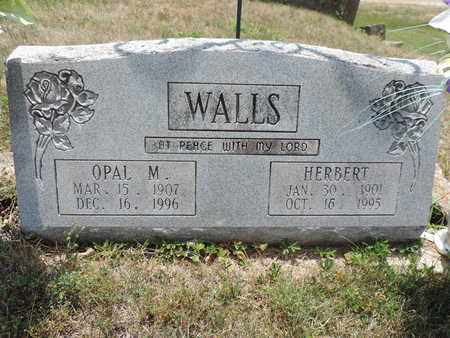 WALLS, HERBERT - Pike County, Ohio | HERBERT WALLS - Ohio Gravestone Photos