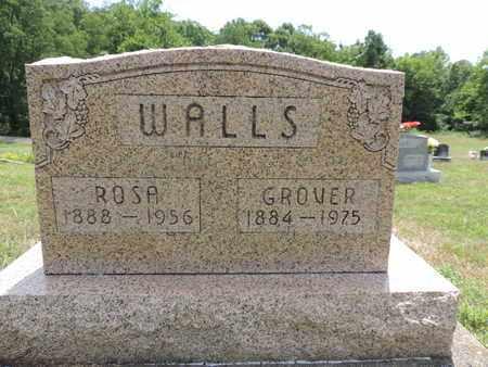WALLS, ROSA - Pike County, Ohio   ROSA WALLS - Ohio Gravestone Photos