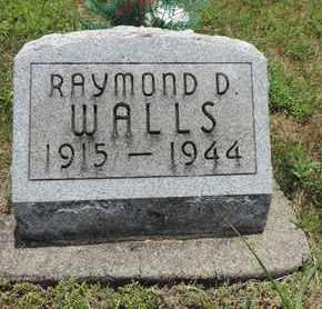 WALLS, RAYMOND D. - Pike County, Ohio | RAYMOND D. WALLS - Ohio Gravestone Photos