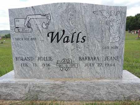 WALLS, BARBARA - Pike County, Ohio | BARBARA WALLS - Ohio Gravestone Photos