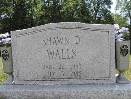 WALLS, SHAWN D. - Pike County, Ohio | SHAWN D. WALLS - Ohio Gravestone Photos