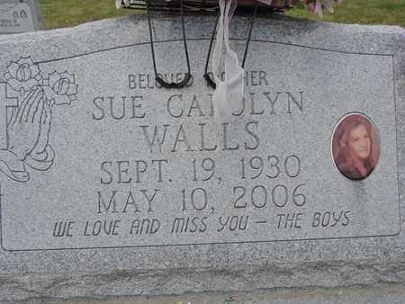 WALLS, SUE CAROLYN - Pike County, Ohio   SUE CAROLYN WALLS - Ohio Gravestone Photos
