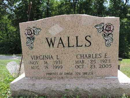 WALLS, VIRGINIA L - Pike County, Ohio | VIRGINIA L WALLS - Ohio Gravestone Photos