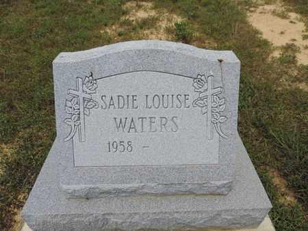 WATERS, SADIE LOUISE - Pike County, Ohio | SADIE LOUISE WATERS - Ohio Gravestone Photos