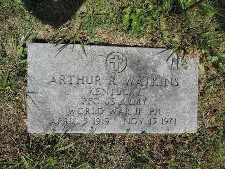 WATKINS, ARTHUR R. - Pike County, Ohio   ARTHUR R. WATKINS - Ohio Gravestone Photos