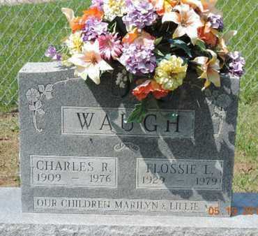WAUGH, CHARLES R. - Pike County, Ohio | CHARLES R. WAUGH - Ohio Gravestone Photos