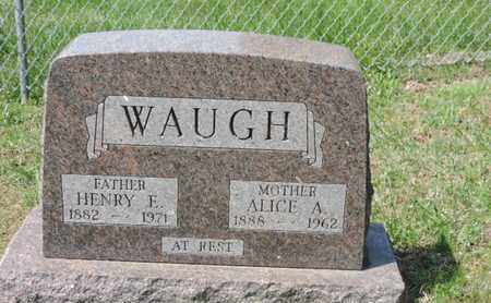WAUGH, ALICE A. - Pike County, Ohio | ALICE A. WAUGH - Ohio Gravestone Photos