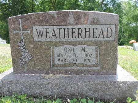 WEATHERHEAD, OPAL M. - Pike County, Ohio | OPAL M. WEATHERHEAD - Ohio Gravestone Photos