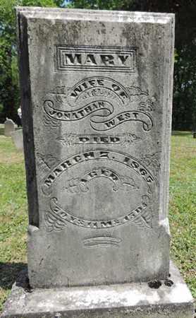 WEST, MARY - Pike County, Ohio | MARY WEST - Ohio Gravestone Photos