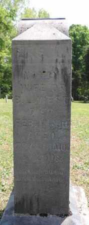 WEST, NANCY - Pike County, Ohio   NANCY WEST - Ohio Gravestone Photos