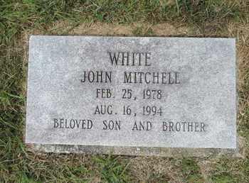 WHITE, JOHN MITCHELL - Pike County, Ohio   JOHN MITCHELL WHITE - Ohio Gravestone Photos