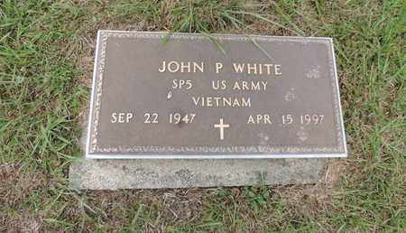 WHITE, JOHN P - Pike County, Ohio | JOHN P WHITE - Ohio Gravestone Photos