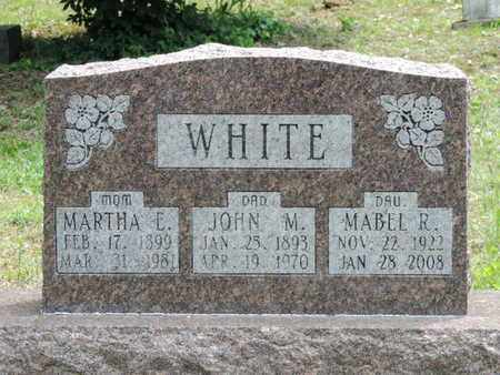 WHITE, MARTHA E. - Pike County, Ohio | MARTHA E. WHITE - Ohio Gravestone Photos
