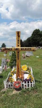 WILBURN, HOMER - Pike County, Ohio   HOMER WILBURN - Ohio Gravestone Photos