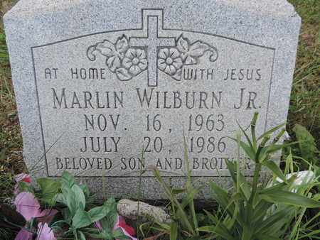 WILBURN, MARLIN - Pike County, Ohio | MARLIN WILBURN - Ohio Gravestone Photos