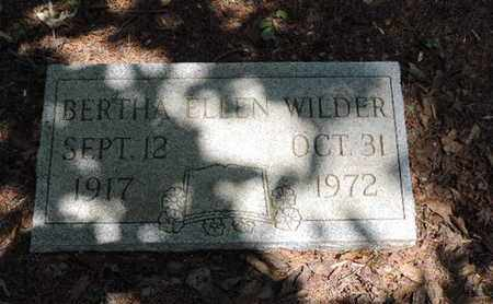 WILDER, BERTH ELLEN - Pike County, Ohio | BERTH ELLEN WILDER - Ohio Gravestone Photos