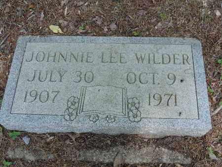 WILDER, JOHNNIE LEE - Pike County, Ohio | JOHNNIE LEE WILDER - Ohio Gravestone Photos