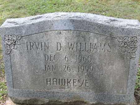 WILLIAMS, IRVIN D. - Pike County, Ohio | IRVIN D. WILLIAMS - Ohio Gravestone Photos