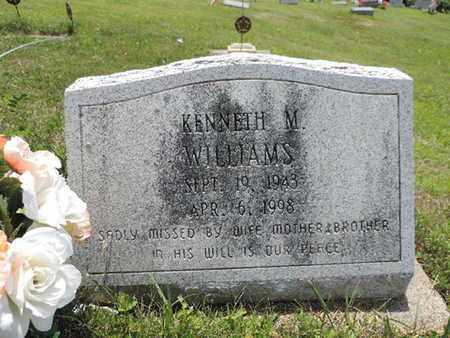 WILLIAMS, KENNETH M. - Pike County, Ohio | KENNETH M. WILLIAMS - Ohio Gravestone Photos