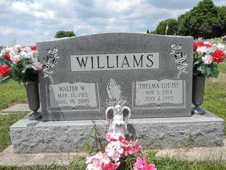 WILLIAMS, WALTER W. - Pike County, Ohio | WALTER W. WILLIAMS - Ohio Gravestone Photos