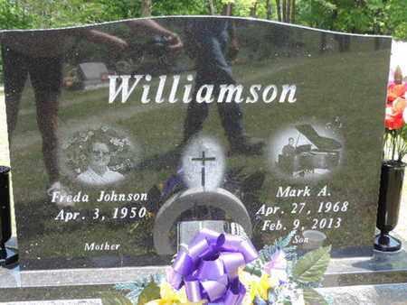 JOHNSON WILLIAMSON, FREDA - Pike County, Ohio | FREDA JOHNSON WILLIAMSON - Ohio Gravestone Photos