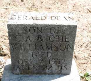 WILLIAMSON, GERALD DEAN - Pike County, Ohio | GERALD DEAN WILLIAMSON - Ohio Gravestone Photos
