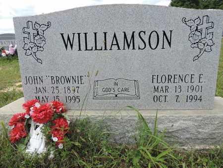 WILLAMSON, FLORENCE E. - Pike County, Ohio | FLORENCE E. WILLAMSON - Ohio Gravestone Photos