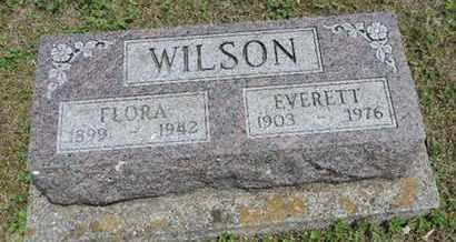 WILSON, FLORA - Pike County, Ohio | FLORA WILSON - Ohio Gravestone Photos