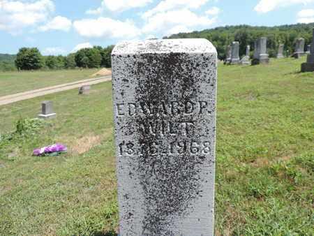 WILT, EDWARD P. - Pike County, Ohio | EDWARD P. WILT - Ohio Gravestone Photos