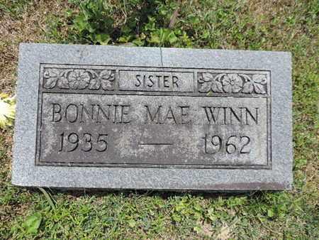 WINN, BONNIE MAE - Pike County, Ohio | BONNIE MAE WINN - Ohio Gravestone Photos