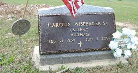 WISEBAKER, HAROLD - Pike County, Ohio   HAROLD WISEBAKER - Ohio Gravestone Photos