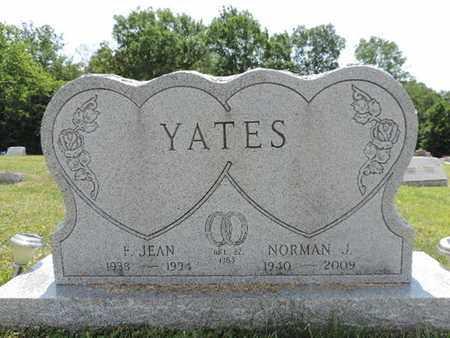 YATES, F. JEAN - Pike County, Ohio | F. JEAN YATES - Ohio Gravestone Photos