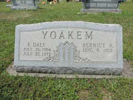 YOAKEM, BERNICE S. - Pike County, Ohio | BERNICE S. YOAKEM - Ohio Gravestone Photos