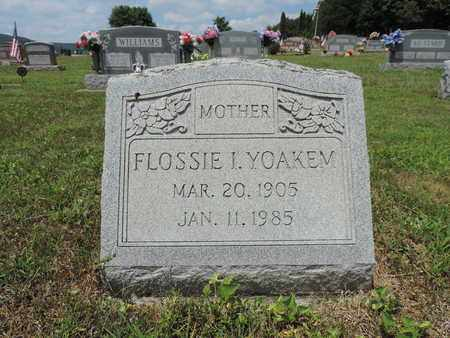 YOAKEM, FLOSSIE I - Pike County, Ohio | FLOSSIE I YOAKEM - Ohio Gravestone Photos