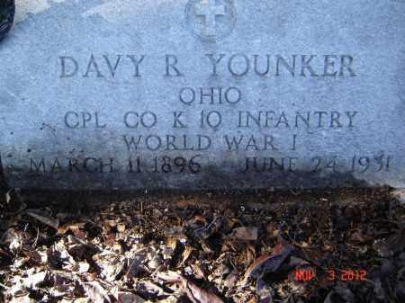 YOUNKER, DAVY R - Pike County, Ohio | DAVY R YOUNKER - Ohio Gravestone Photos