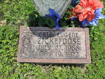 ZICKEFOOSE, DALE EUGENE - Pike County, Ohio   DALE EUGENE ZICKEFOOSE - Ohio Gravestone Photos