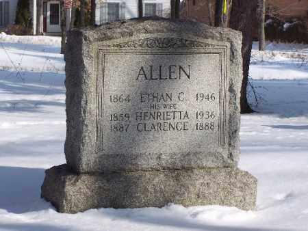 ALLEN, ETHAN C. - Portage County, Ohio   ETHAN C. ALLEN - Ohio Gravestone Photos