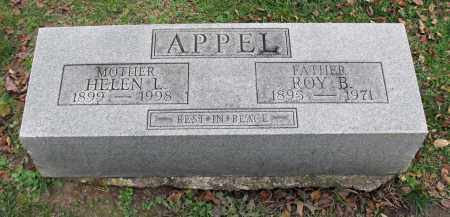 BROWN APPEL, HELEN L. - Portage County, Ohio | HELEN L. BROWN APPEL - Ohio Gravestone Photos