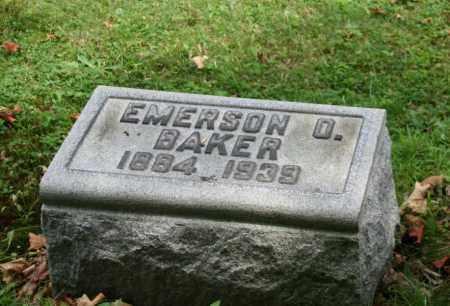 BAKER, EMERSON O - Portage County, Ohio | EMERSON O BAKER - Ohio Gravestone Photos