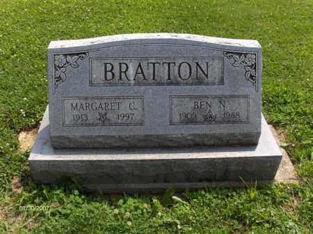 BRATTON, MARGARET - Portage County, Ohio | MARGARET BRATTON - Ohio Gravestone Photos