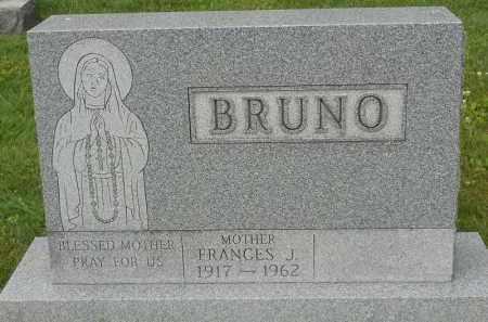 BRUNO, FRANCES J - Portage County, Ohio | FRANCES J BRUNO - Ohio Gravestone Photos