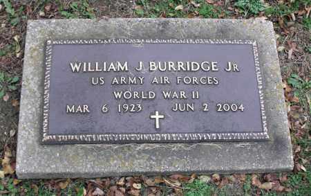 BURRIDGE, JR., WILLIAM J. - Portage County, Ohio | WILLIAM J. BURRIDGE, JR. - Ohio Gravestone Photos