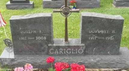CARIGLIO, JOSEPH F - Portage County, Ohio | JOSEPH F CARIGLIO - Ohio Gravestone Photos