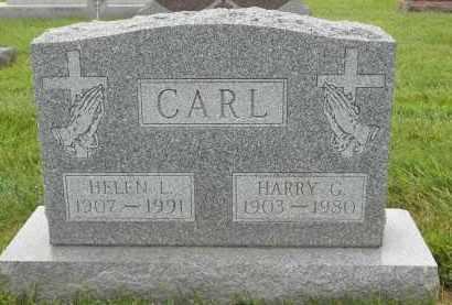 CARL, HELEN L - Portage County, Ohio   HELEN L CARL - Ohio Gravestone Photos