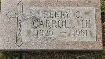 CARROLL, HENRY C - Portage County, Ohio | HENRY C CARROLL - Ohio Gravestone Photos
