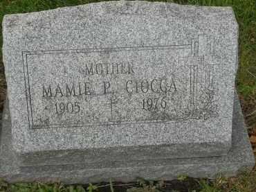 CIOCCA, MAMIE P - Portage County, Ohio   MAMIE P CIOCCA - Ohio Gravestone Photos